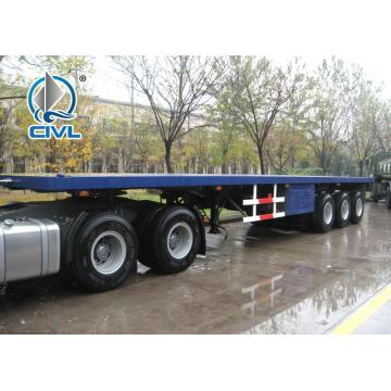 Recipiente de 40 pés que transporta semi caminhões de reboque
