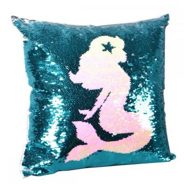 MERMAID REVERSIBLE SEQUIN PILLOW-0