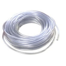 Transparent / Clear Pvc Hose , 10mm Bearing And Wear Properties Tube