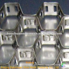Carbon Steel 0Cr18 heating resisting Tortoise Shell Mesh(Factory)