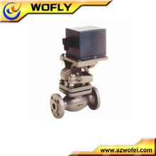 Steam solenoid stainless steel ball valves