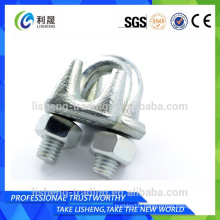 Flat u bolt swivel hook clamps