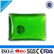Forma de rectángulo reutilizable haga clic en paquete de calor