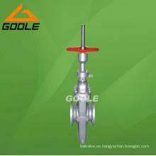Válvula de compuerta de placa plana (GAZ43F)