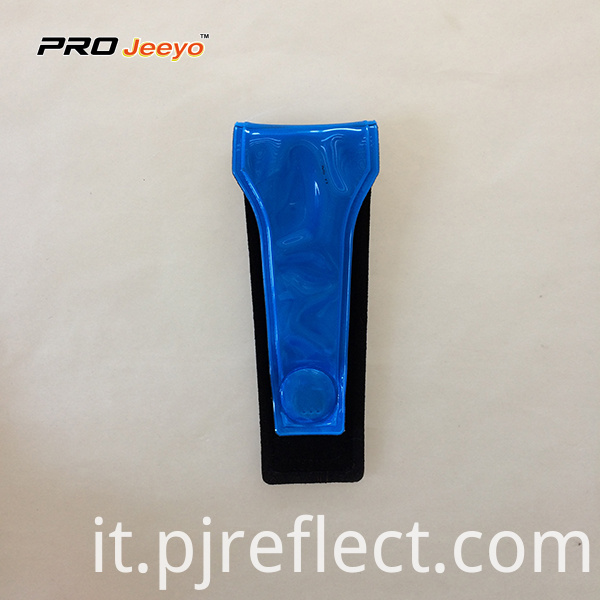 Reflective High Visibility Pvc Blue Magnetic Clipcj Ccj003