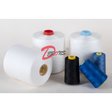 100% polyester yarn spun yarn