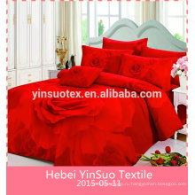 Набор для постельного белья из трех цветов хлопка для взрослых