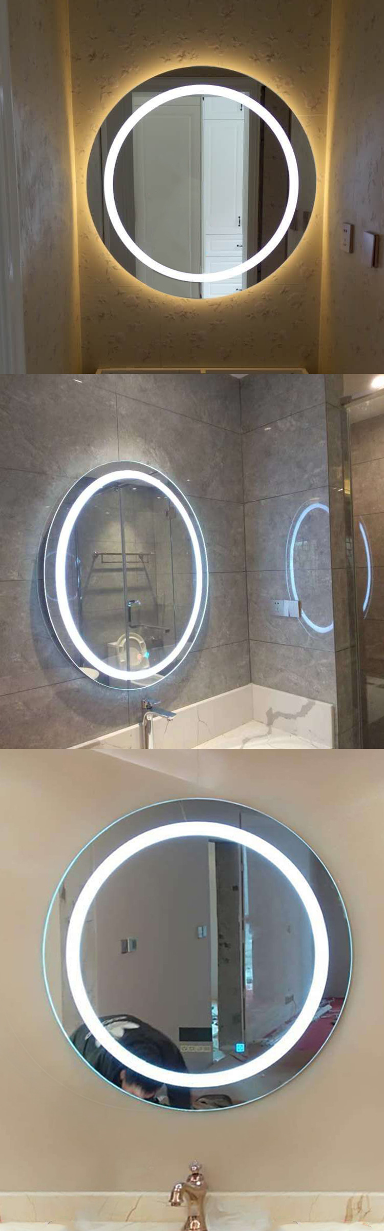 Application Long Mirror With Lights
