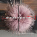 Real Raccoon Fur Bobble for hat