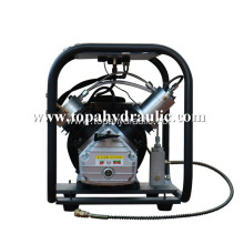 Mobile electric pcp high pressure compressor