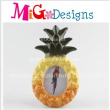 Customized Lovely Pineapple Wholesale Design Ceramic Photo Frame