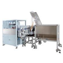 Kundenspezifische Hochgeschwindigkeitsautomatische zwei Farben-Flaschen Kappen-Auflage-Drucker-Maschine für Verkauf