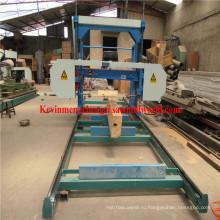 Портативный Бензиновый ленточнопильный станок для резки древесины Mj1300d на Ленточнопильном станке