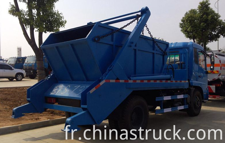 10Ton swing arm refuse lorry