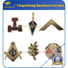 Instock Wholesale Free Mold Masonic Pin