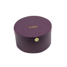 Custom Empty Biscuit Cookie Truffle Chocolate Round Box