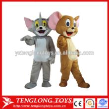 Costume de mascotte d'animal, costume de mascotte d'animal de fantaisie à vendre