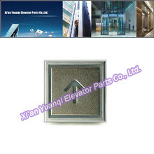Thyssen Elevator Buttons Lift Spare Parts Stainless Steel Thyssenkrupp Push Call Button Super Thick