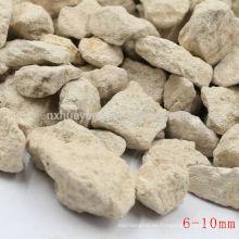 Adsorción fuerte Maifanite / piedra de Maifan con 0.5-1,1-2,2-4,4-6.6-8mm