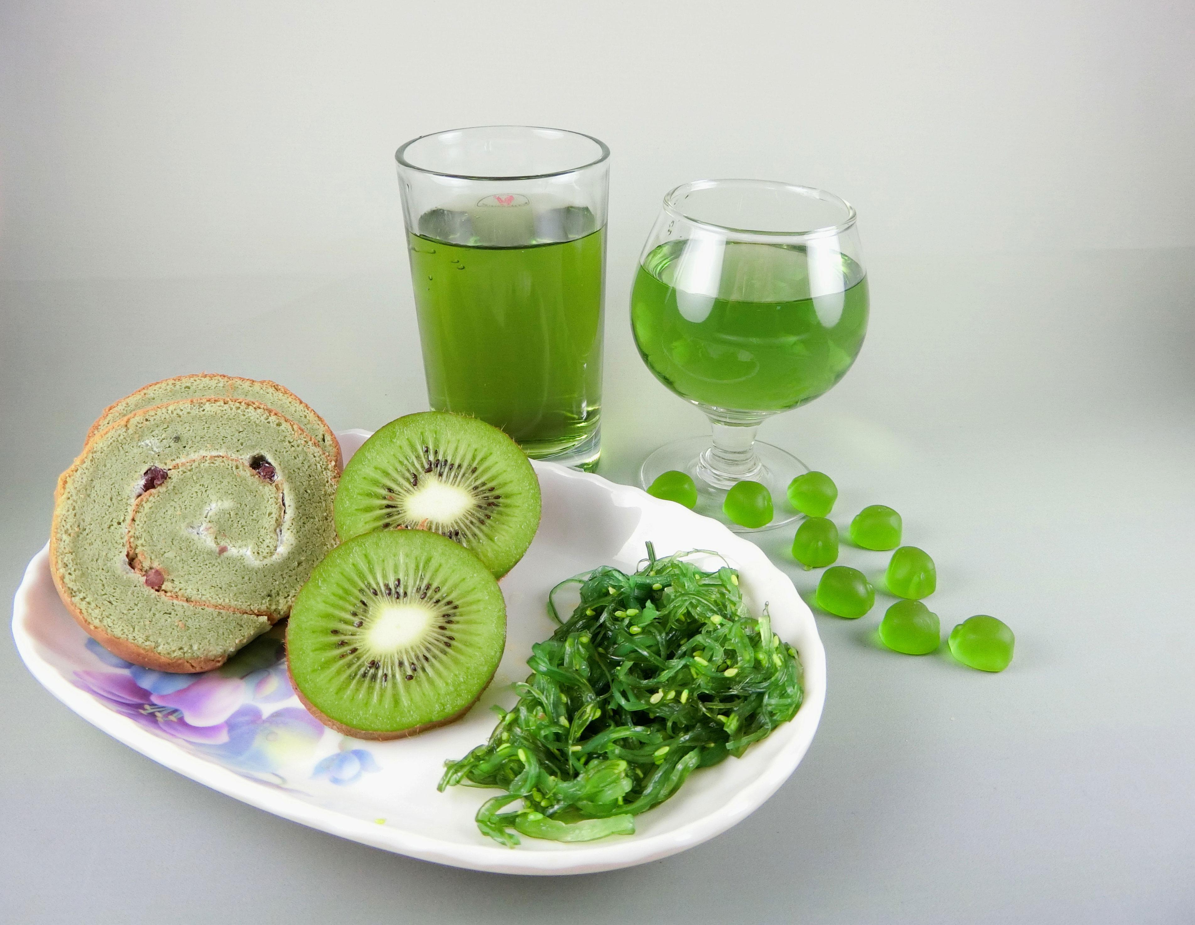 Food green pigment