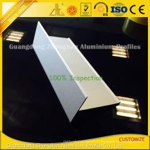 Extrusion en aluminium à crémaillère en T pour profils en extrudeuse en aluminium