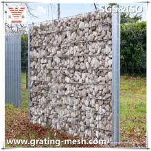 Geschweißte Gabionen-Box / geschweißtes Gabion-Netz für Stützmauer