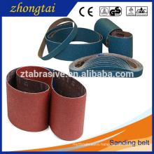 Zirconia alumina belts Flexible abrasive cloth backing abrasive belt grinder