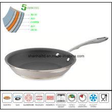 Nonstick Fry Pan Copper Core 5ply Body Pan