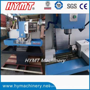 XK7125 CNC вертикальный металлорежущий фрезерный сверлильный станок