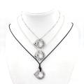 Мода ювелирные изделия пользовательских выгравированы Word кулон ожерелье