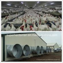 Stahlstruktur-Geflügelfarm-Haus mit Landwirtschafts-Ausrüstung