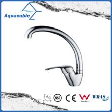 Deck-Mounted Chromed Zinc Kitchen Faucet (AF1201-5A)