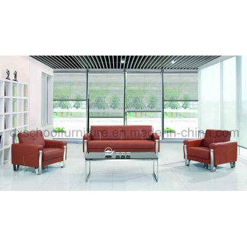 Modern Leather Sofa Office Sofa for Sale (DX519)