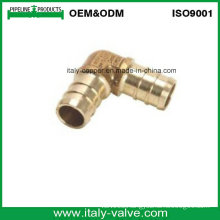 Customized Quality Lead-Free Brass Crimp Elbow (IC1002)
