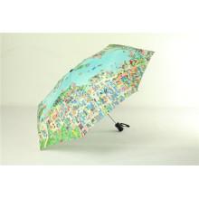 "21""x8K Folding Map Umbrella, Promotional Umbrella"