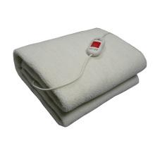 Abastecimento de fábrica sob cobertores elétricos com cobertura de aquecimento de lã artificial