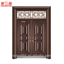 Modern main gate designs price for stainless steel door frame with window