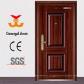 ISO9001 house entrance steel exterior doors prices