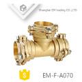 EM-F-A070 Muffe Typ Messing Reduzierstück Flansch Fittings