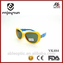 Populaire double couleur mignon enfants enfants lunettes de soleil lunettes de lunettes Chine en gros avec ABC