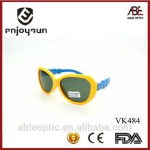 Popular de dupla cor lindos crianças crianças óculos de sol óculos de porcelana atacadista com ABC
