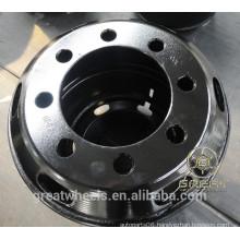 Truck tube wheels & rims 8 bolts 7.5-20