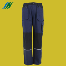 Polyester Pure Cotton Flat Waist Trousers