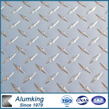 Feuille d'aluminium Diamond Checkered pour le paquet