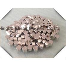Permanet neodímio/disco de NdFeB com chapeamento de alta qualidade