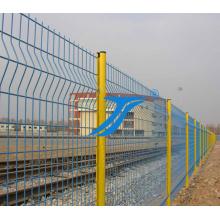 Sicherheitszaun-Doppelt-Maschendraht-Stahl-Garten-Zaun