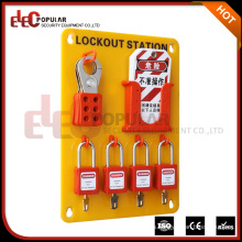 Elecpopular Nuevos productos 2016 Combination Locks Safety Padlock Lockout Station