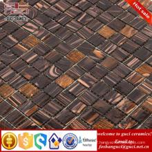 cheap mosaic tile mixed Hot - melt floor and wall mosaic tiles
