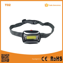 T02 The Best Factory Cheap COB High Power LED Headlamp with Bright LED Light