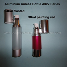 30ml 50ml Aluminium Airless Haut Toner Bottle